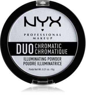 NYX Professional Makeup Duo Chromatic rozjasňovač