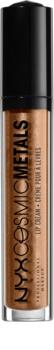 NYX Professional Makeup Cosmic Metals™ metalická tekutá rtěnka