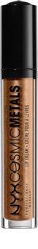 NYX Professional Makeup Cosmic Metals™ rouge à lèvres liquide métallisé