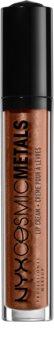 NYX Professional Makeup Cosmic Metals™ металическо течно червило