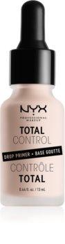 NYX Professional Makeup Total Control Drop Primer Egységesítő sminkalap