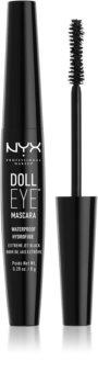 NYX Professional Makeup Doll Eye voděodolná řasenka
