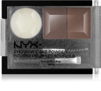 NYX Professional Makeup Eyebrow Cake Powder sada na úpravu obočí