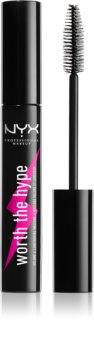 NYX Professional Makeup Worth The Hype máscara de pestañas