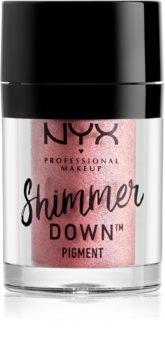 NYX Professional Makeup Shimmer Down Pigment sypké oční stíny s vysokou pigmentací