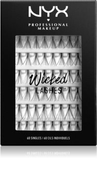 NYX Professional Makeup Wicked Lashes Singles Klebewimpern