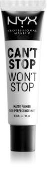 NYX Professional Makeup Can't Stop Won't Stop prebase de maquillaje