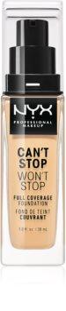 NYX Professional Makeup Can't Stop Won't Stop vysoko krycí make-up