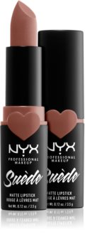 NYX Professional Makeup Suede Matte  Lipstick ruj mat