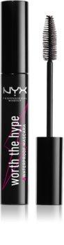 NYX Professional Makeup Worth The Hype máscara de pestañas resistente al agua