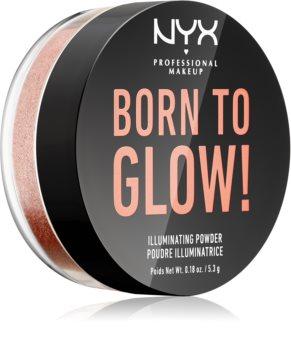 NYX Professional Makeup Born To Glow világosító púder
