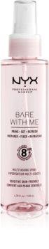 NYX Professional Makeup Bare With Me Prime-Set-Refresh Multitasking Spray ľahký multifunkčný sprej