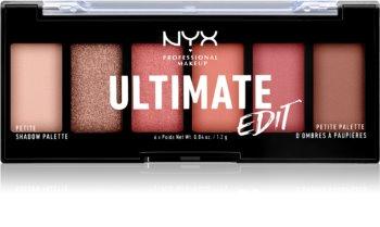 NYX Professional Makeup Ultimate Edit Petite Shadow paleta cieni do powiek