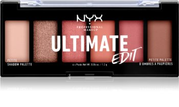 NYX Professional Makeup Ultimate Edit Petite Shadow Palett för ögonskugga