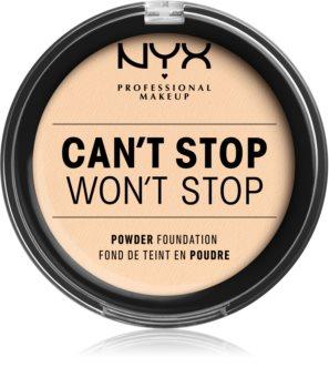 NYX Professional Makeup Can't Stop Won't Stop fondotinta in polvere