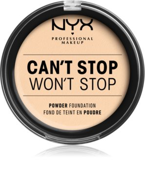 NYX Professional Makeup Can't Stop Won't Stop púderes make-up