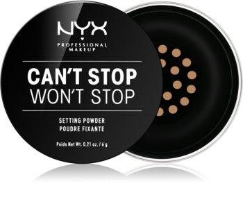 NYX Professional Makeup Can't Stop Won't Stop polvos sueltos