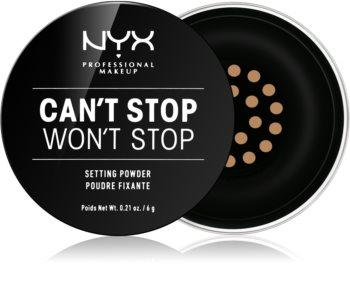 NYX Professional Makeup Can't Stop Won't Stop poudre libre