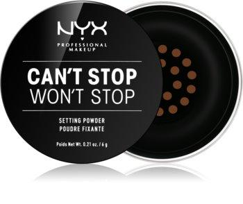 NYX Professional Makeup Can't Stop Won't Stop Loose Powder