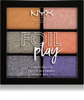 NYX Professional Makeup Foil Play palette di ombretti