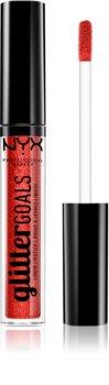 NYX Professional Makeup Glitter Goals flüssiger Lippenstift