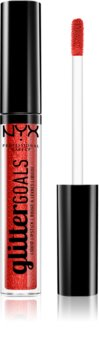 NYX Professional Makeup Glitter Goals rouge à lèvres liquide