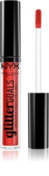 NYX Professional Makeup Glitter Goals течно червило
