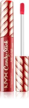 NYX Professional Makeup Candy Slick Glowy Lip Color brillant à lèvres ultra pigmenté