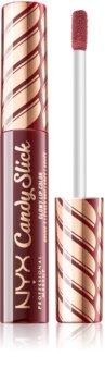 NYX Professional Makeup Candy Slick Glowy Lip Color vysoko pigmentovaný lesk na pery