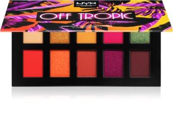 NYX Professional Makeup Off tropic палитра от сенки за очи