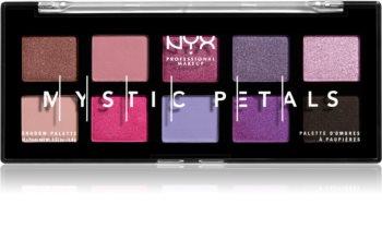 NYX Professional Makeup Mystic Petals paleta de sombras de ojos