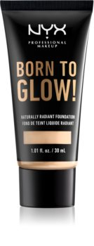 NYX Professional Makeup Born To Glow das flüssige aufhellende Foundation