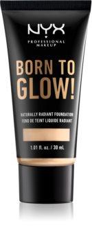 NYX Professional Makeup Born To Glow течен озаряващ фон дьо тен