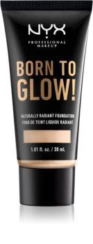 NYX Professional Makeup Born To Glow das flüssige aufhellende Make-up