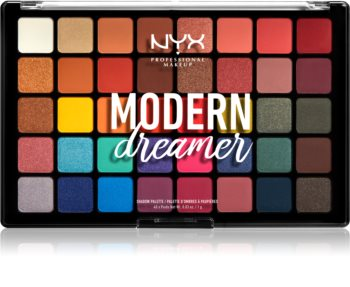 NYX Professional Makeup Modern Dreamer paleta de sombras de ojos