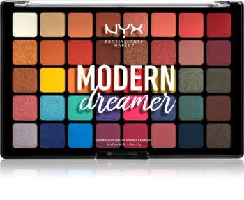 NYX Professional Makeup Modern Dreamer paletka očních stínů