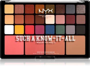 NYX Professional Makeup Such A Know-It-All paleta pentru fata multifunctionala