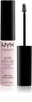 NYX Professional Makeup Bare With Me Hemp Brow Setter gel na obočí