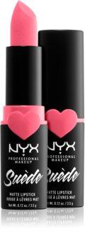 NYX Professional Makeup Suede Matte  Lipstick матуюча помада