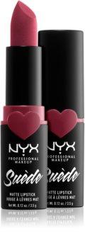 NYX Professional Makeup Suede Matte  Lipstick ruj mat