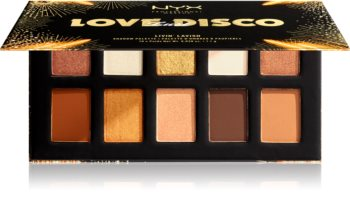 NYX Professional Makeup Love Lust Disco oogschaduw palette