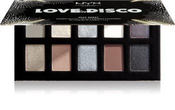 NYX Professional Makeup Love Lust Disco oogschaduw palette