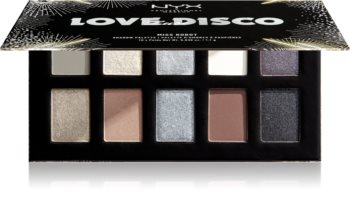 NYX Professional Makeup Love Lust Disco палетка тіней для очей