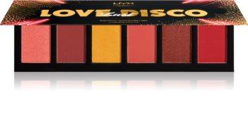 NYX Professional Makeup Love Lust Disco Sweet Cheeks Blush paletă de farduri pentru obraji