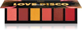 NYX Professional Makeup Love Lust Disco Sweet Cheeks Blush paletka na tvář