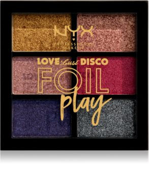 NYX Professional Makeup Love Lust Disco Foil Play palette di ombretti