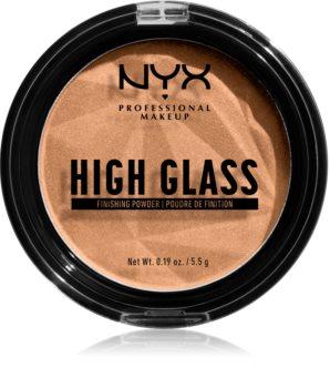 NYX Professional Makeup High Glass púder az élénk bőrért