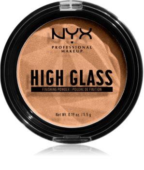 NYX Professional Makeup High Glass Puder zur Verjüngung der Gesichtshaut