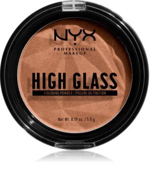 NYX Professional Makeup High Glass pudr pro rozjasnění pleti