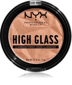 NYX Professional Makeup High Glass rozjasňovač